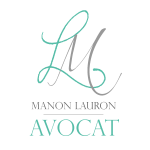 Manon Lauron Avocat Mobile Logo